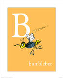 B is for Bumblebee (orange)