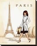 Paris Tableau sur toile par Andrea Laliberte