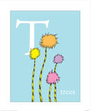 T is for Trees (blue)