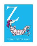 Z is for Zizzer Zazzer Zuzz (blue)