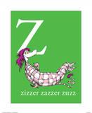 Z is for Zizzer Zazzer Zuzz (green)