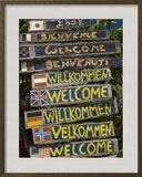 Welcome Signs  Laem Tong Beach  Phi Phi Don Island  Thailand  Southeast Asia  Asia