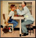 """At the Optometrist"" or ""Eye Doctor""  May 19 1956"