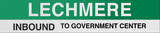Lechmere Boston/Green Line Sign