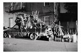 Truck Overload Reproduction d'art par Evan Morris Cohen