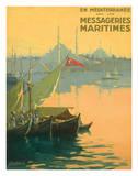 Istambul Messageries Maritimes c.1925 Giclée par Gilbert Galland