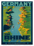 The Rhine  Germany c1950s
