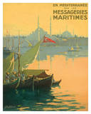 Istambul Messageries Maritimes c1925