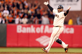 San Francisco  CA - Oct 22: San Francisco Giants v St Louis Cardinals - Pablo Sandoval