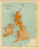 Map of the British Isles