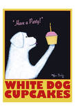 White Dog Cupcakes