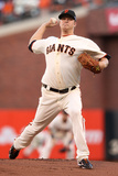 San Francisco  CA - Oct 22: San Francisco Giants v St Louis Cardinals - Matt Cain