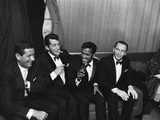 Sammy Davis Jr., Rat Pack - 1960 Papier Photo par Moneta Sleet