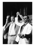 Jesse Jackson and Stevie Wonder