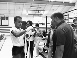 Sugar Ray Leonard Training