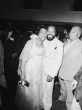 Berry Gordy and Coretta King