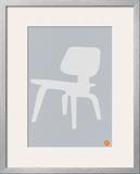 Eames White Plywood Chair