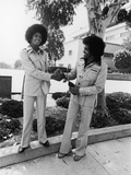 Michael Jackson and Joseph Jackson - 1975