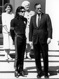 Michael Jackson; George HW Bush - 1990