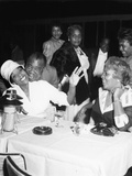 Dinah Washington  Louis Armstrong  Lucille Armstrong - 1961