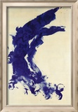 Anthropometrie (ANT 130), 1961 Reproduction encadrée par Yves Klein