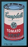 Campbell&#39;s Soup Can  1965 (Pink and Red)