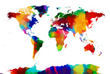Map of the World Map