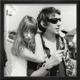 Serge Gainsbourg and Jane Birkin  July 23  1970