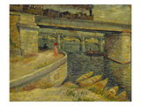 Seine Bridge Near Asnieres  1887