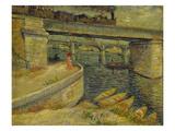 Seine Bridge Near Asnieres  1887