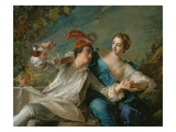 The Lovers (Chivalric Scene)  1744
