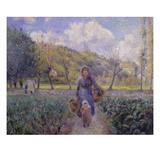 In the Vegetable Garden  1881