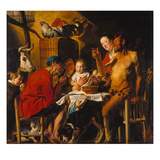 The Satyr with the Peasants after 1620