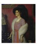 Portrait of Gertrud Littmann  1911