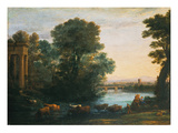 Idyllic Landscape During Sunset  1670