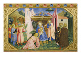 Adoration of the Magi from the Predella of the Annunciation Altarpiece