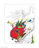 The Grinch's Heart Grew Three Sizes Reproduction d'art par Theodor (Dr. Seuss) Geisel