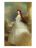 Empress Elizabeth of Austria (Sissi)  1865