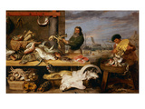 A Fish Market  (The Characters of Cornelis De Vos)
