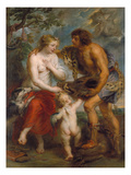 Meleager and Atalante  about 1635