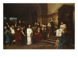 Christ in Front of Pontius Pilate  1881