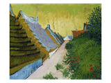 Village Street in Saintes-Maries  1888