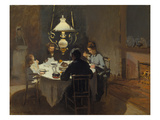 Dinner-Time at the Sisley's  ca 1868/69