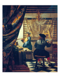 The Art of Painting (The Artist&#39;s Studio) About Um 1666/68
