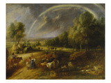 Landscape with Rainbow after 1640