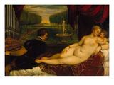 Venus Mit Dem Orgelspieler Und Einem Putto  1548()