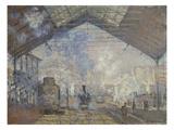 The Gare Saint-Lazare  1877