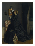 In the Boudoir  about 1865()