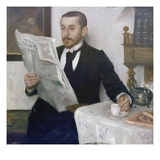 Portrait of the Painter Benno Becker  1892