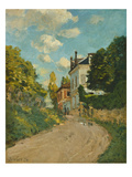 View of the Rue De Moubuisson  Louveciennes  1874
